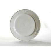 Tuxton YEA-062 Monterey Embossed Plates - Dinner Plates