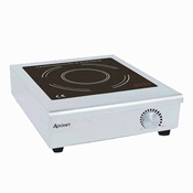 Adcraft IND-C120V Countertop Manual Induction Cooker - Countertop Induction Ranges