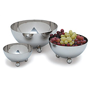 Carlisle 20 oz Stainless Steel Display Bowls - Servingware
