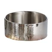 American Metalcraft DWBH12 Hammered Double Wall Bowl - American Metalcraft