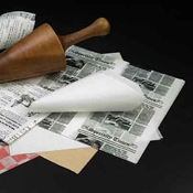 American Metalcraft PPRN2121 Newspaper Wax Paper - Butcher and Wax Paper