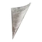 American Metalcraft PPRN76 Newspaper Paper Bag - Butcher and Wax Paper