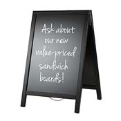 American Metalcraft SBSBL120 Basic Sandwich Board - Presentation Stands and Carts