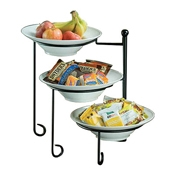 American Metalcraft TTRSMEL7 Three-Tier Stand - Display Risers