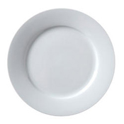 "Vertex China ARG-20 Wide Rim Plate 11-1/8"" - Dinner Plates"