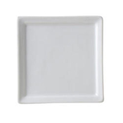 "Vertex China AV-S4 Bright White Insert Plate 4"" X 4"" - Dinner Plates"