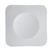 "Vertex China AV-SQ16 Bright White Plate 10-1/2"" X 10-1/2"" - Dinner Plates"