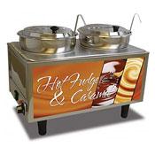 Benchmark 51072H Hot Fudge / Caramel Warmer - Full-Size Food Warmers
