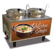 Benchmark 51072S Soup Station Warmer - Soup Food Warmers