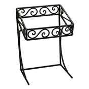 "Delfin CTD-121217SF Steel 17"" Tiered Display Server Stand - Display Risers"