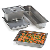 "Carlisle Full Size, 4""D Perforated Food Pan - Full Size Steam Table Pans"