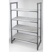 "Cambro Stationary 18"" x 60"" x 72"" Camshelving"