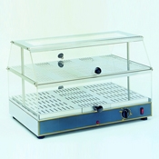 Equipex WD-200 Countertop 2 Shelf Sodir Gonagain Display Warmer - Equipex