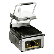 Equipex SAVOY Full-Top 13 in. Sodir Electric Panini Press - Equipex