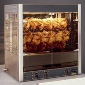 Equipex RBE-25 Infrared Quartz Elements Electric Rotisserie Roaster Oven - Equipex
