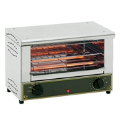 Equipex TS-127 Single Shelf Open-Style Sodir Toaster Oven - Equipex