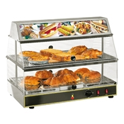 Equipex WDL-200 24 In Countertop 2 Shelf Sodir Tudor Display Warmer - Equipex