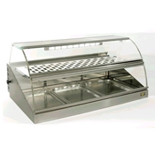 Equipex VHC-1000 Heated 42 in. L Turbo Display Case - Equipex