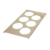 FMP 280-1718 Bottle Holder - Third Size Steam Table Pans