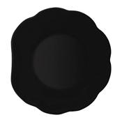 G.E.T. 139-BK 8'' Scallop Shape Plate - Dinner Plates