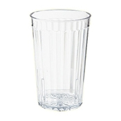 G.E.T. 8816-1-CL 16 oz. Tumbler - Disposable Cups & Lids