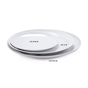 "G.E.T. CS-6102-W 12"" Round Plate - Dinner Plates"