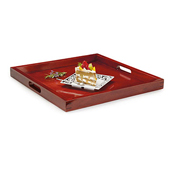 G.E.T. RST-2020-M 21'' Square Tray - Serving Trays