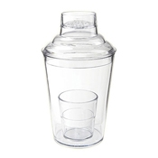 G.E.T. SH-175-1-CL 3 Piece Shaker Set - Cocktail Shakers