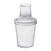 G.E.T. SH-176-1-CL Screw on Top Shaker - Cocktail Shakers