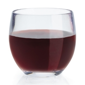 G.E.T. SW-1450-CL Stemless Wine Glass - Wine Glasses