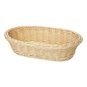 "G.E.T. WB-1505 11.75"" X 8"" Oval Basket - G.E.T. Melamine"