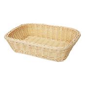 "G.E.T. WB-1508 11.5"" x 8.5"" Rectangular Basket - G.E.T. Melamine"