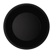 "G.E.T. WP-10-BK 10.5"" Wide Rim Plate - Dinner Plates"