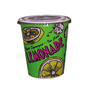 Gold Medal 5304 Disposable Cups 16 oz. Lemonade Special Print - Disposable Cups & Lids