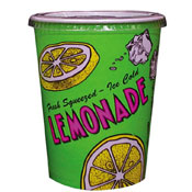 Gold Medal 5305 Disposable Cups 32 oz. Lemonade Special Print - Disposable Cups & Lids