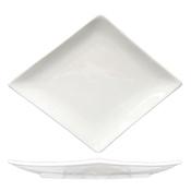 "ITI Marquis Diamond Plate - 10"" x 8"" - Dinner Plates"