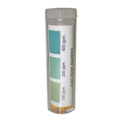 Krowne 25-124 Quaternary Ammonium Chloride Test Strips - Safety Supplies