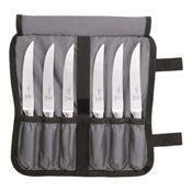 Mercer Culinary 7-Piece Forged Serrated Steak Knife Set - Steak Knives