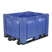 FSE MACX Solid Container With Casters - Foodservice Essentials