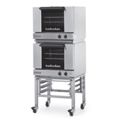 Moffat E22M3-2 Half Size Electric Convection Oven Double Stack - Double Deck Convection Ovens