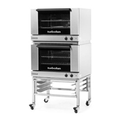 Moffat E27M2-2 Full Size Electric Convection Oven Double Stack - Double Deck Convection Ovens