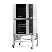 Moffat E31D4-2 Half Size Electric Convection Oven Double Stack - Double Deck Convection Ovens