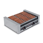 Nemco 8045SXW-SLT Slanted Hot Dog Roller Grill - Hot Dog Equipment and Supplies