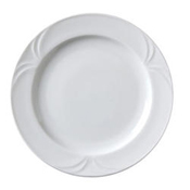 "Vertex China PA-16 Rimmed Plate 10-3/8"" - Dinner Plates"