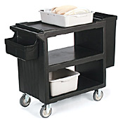 Carlisle Silverware Holder for Service Carts - Carlisle
