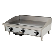 Toastmaster TMGM36 Countertop Manual Gas Griddle - Countertop Gas Commercial Griddles