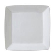"Vertex China AV-S88 Bright White Plate 11-1/2"" X 11-1/2"" - Dinner Plates"