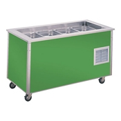 Vollrath 36166 Signature Server Cold Station - Portable Steam Tables