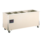 Vollrath 36191 Signature Server Hot/Cold Food Station - Portable Steam Tables