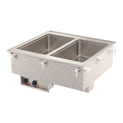 Vollrath 363-01 Two Well Hot Modular Drop-In - Vollrath Steam Tables